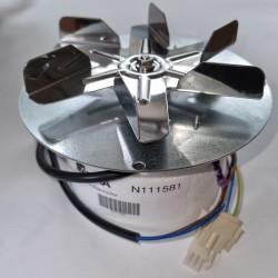 Rookgasventilatormotor +...